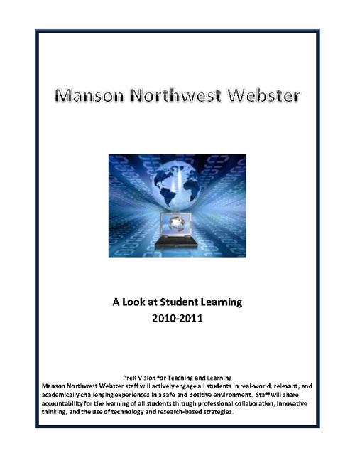 MNW A Look at Student Learning 2010-2011