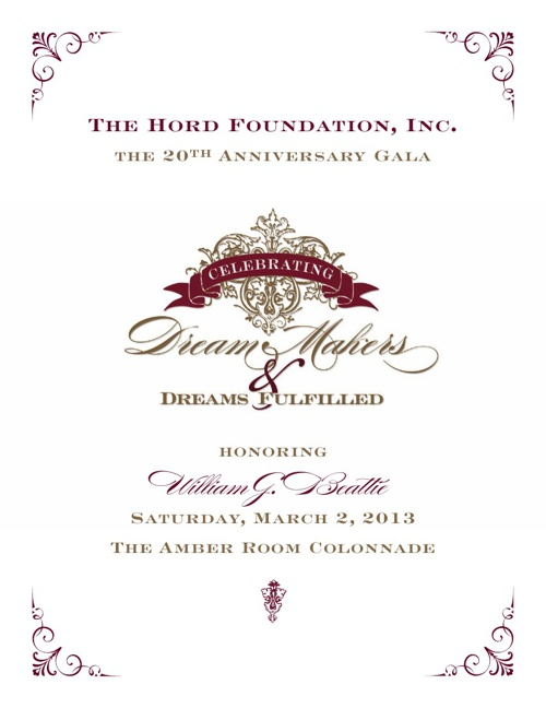 Hord Gala Program