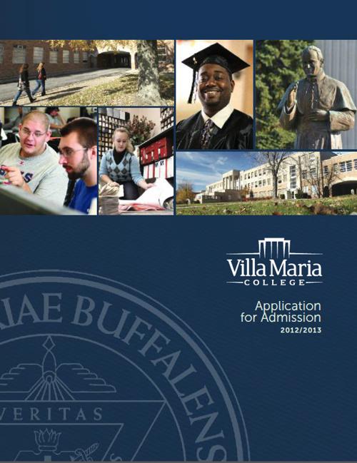 Villa Maria College Rebranding