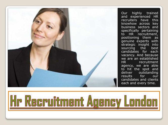 Hr Recruitment Agencies In London