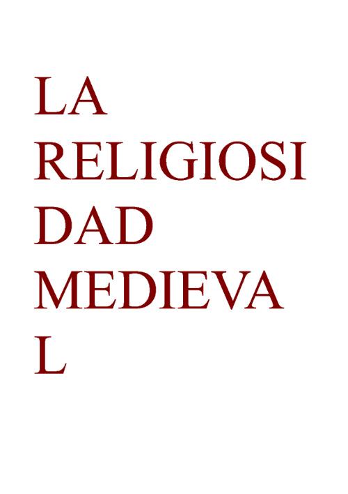 La religiosidad medieval