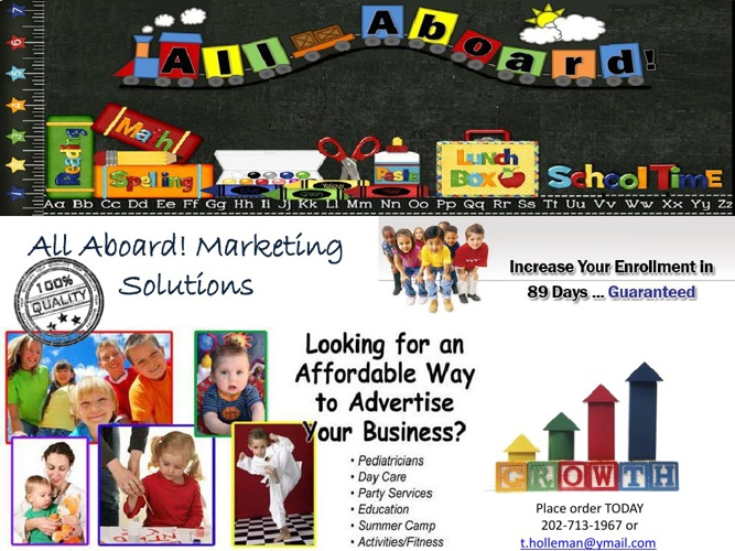 All Aboard! Marketing Solutions/Child Care Centers