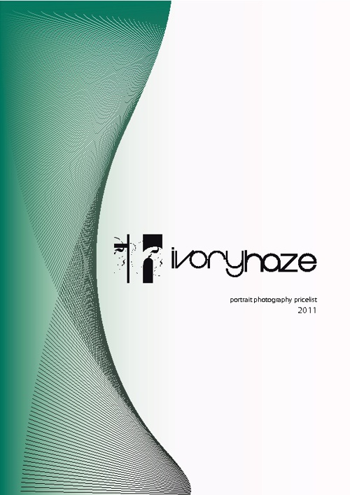 Ivory Haze - Photography Pricelist 2011-2012