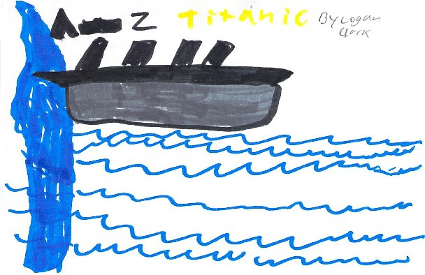 A-Z Titanic by Logan