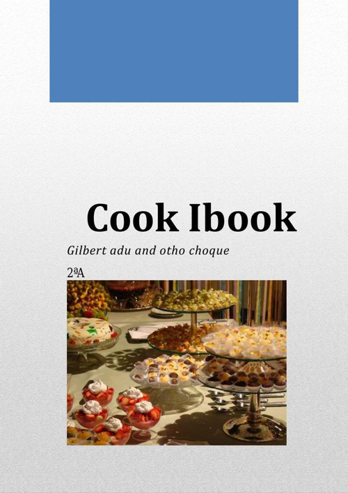 OUR Cook Ibook