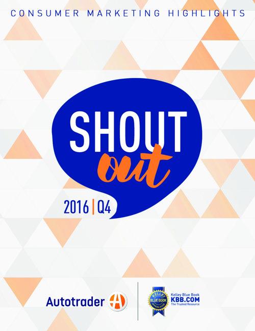 Q4 Shout Out, 2016