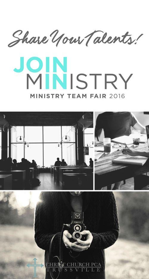 CHRIST CHURCH MINISTRY TEAMS 2016