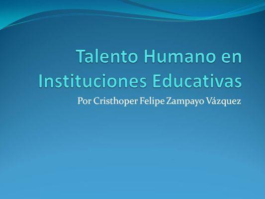 Especialidad Gestión Educativa