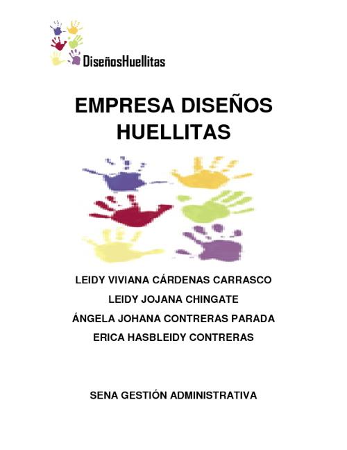 EMPRESA DISEÑOS HUELLITAS