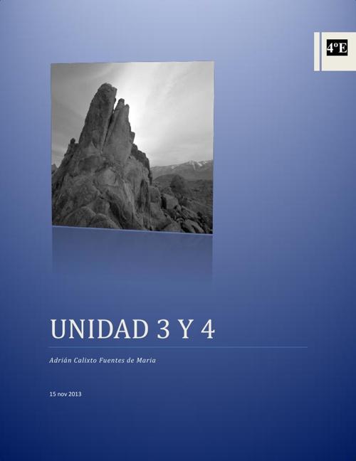 unidad 3 y 4
