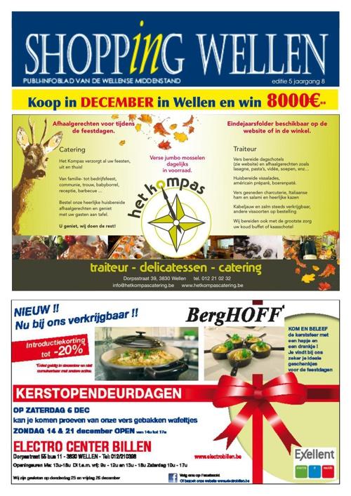 Shopping Wellen - Decemberactie - Editie 5 Jaargang 8