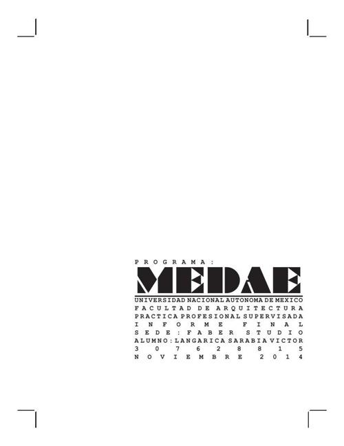 Practica profesional MEDAE 2.0