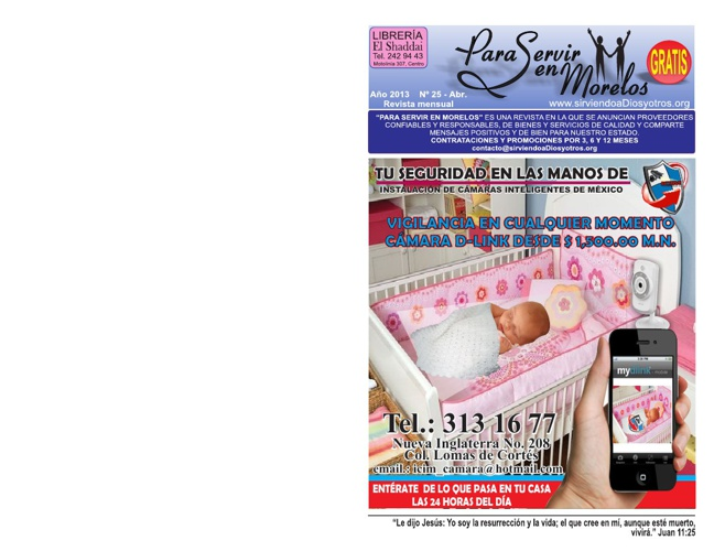 Para Servir en Morelos - Abril 2013