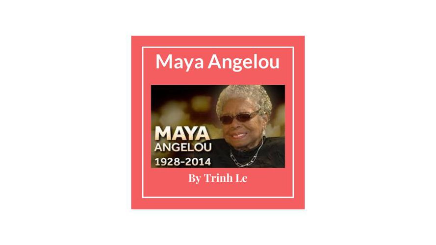Maya Angelou by Trinh Le