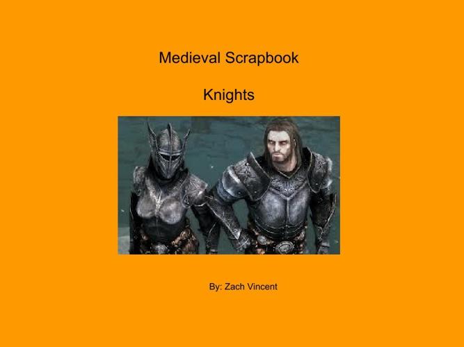 Medieval Scrapbook