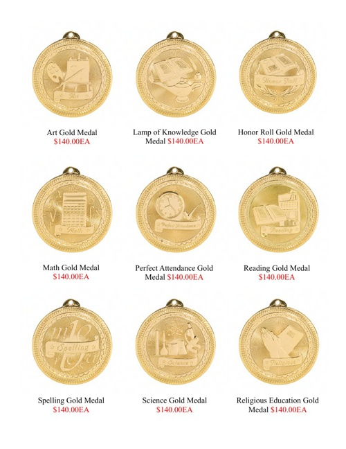 Economy Awards & Medals Catalog
