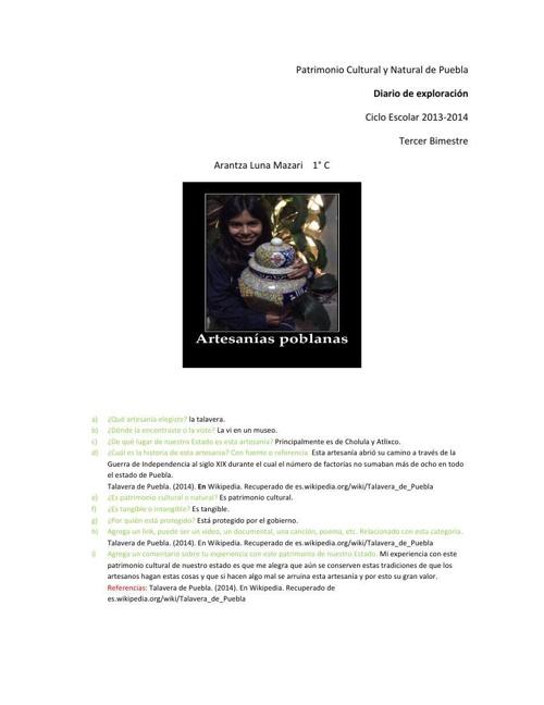 diario de exploración 3 bimimestre