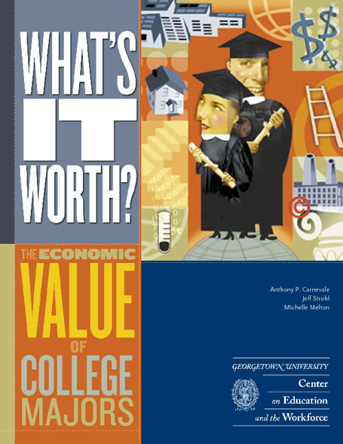 What its worth - your college major