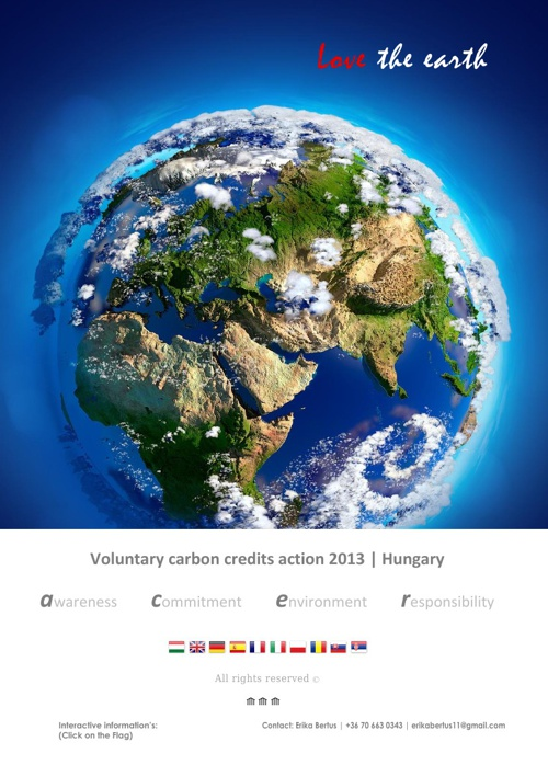 Voluntary Carbon Credit offer 2013. ENG & HUN
