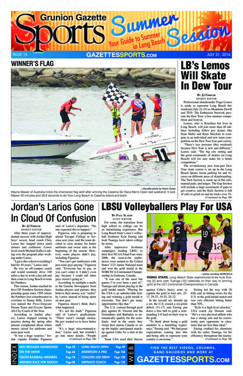 Gazette Sports | July 21, 2016