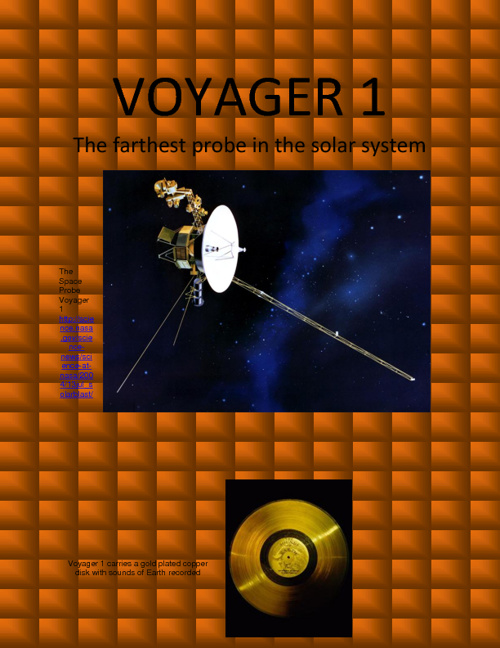the Voyager 1 space probe