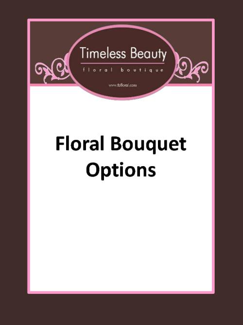 Bouquet Options _ TEST