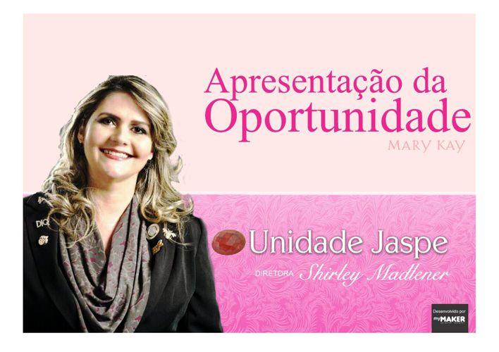 Apresentação da Oportunidade - Unidade Jaspe