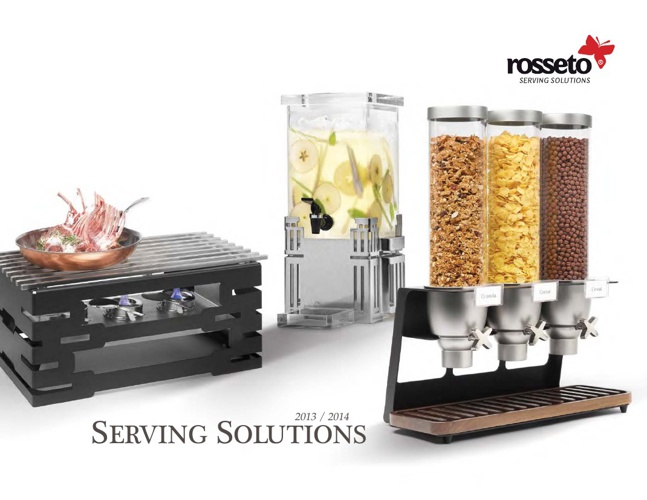 Rosseto Serving Solutions 2013 - 2014