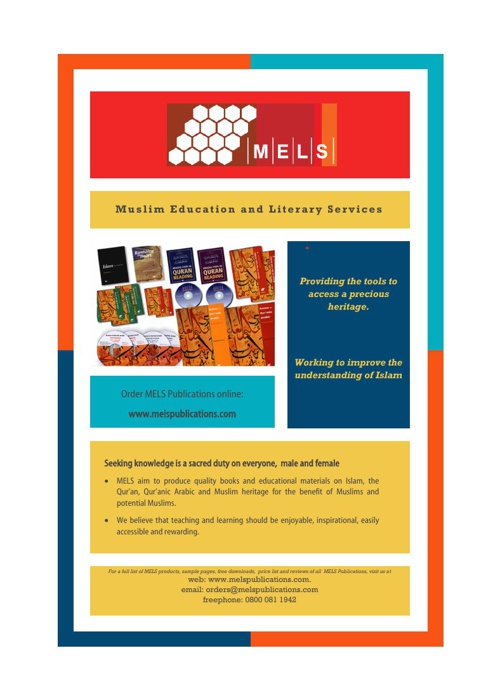 MELS Publications Catalogue