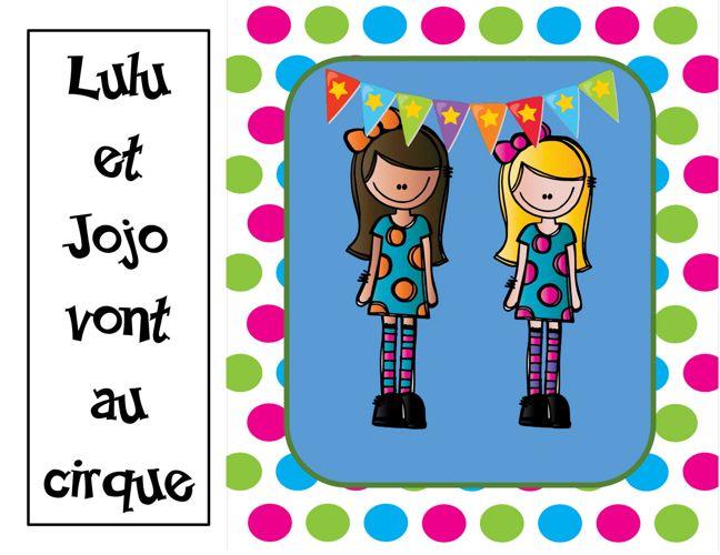 Lulu et Jojo au cirque