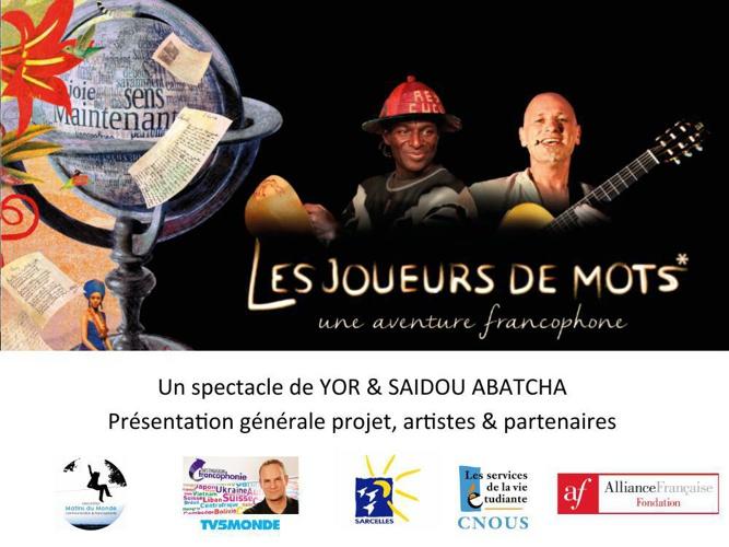 Les Joueurs de mots, une aventure francophone
