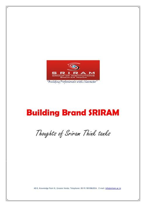 Building brand SRIRAM
