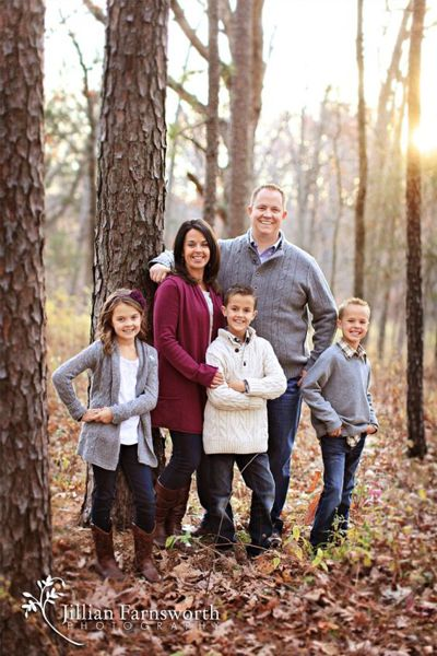 Family of 5 photo session