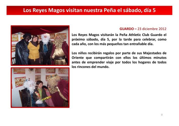Noticias Peña Athletic Club Guardo
