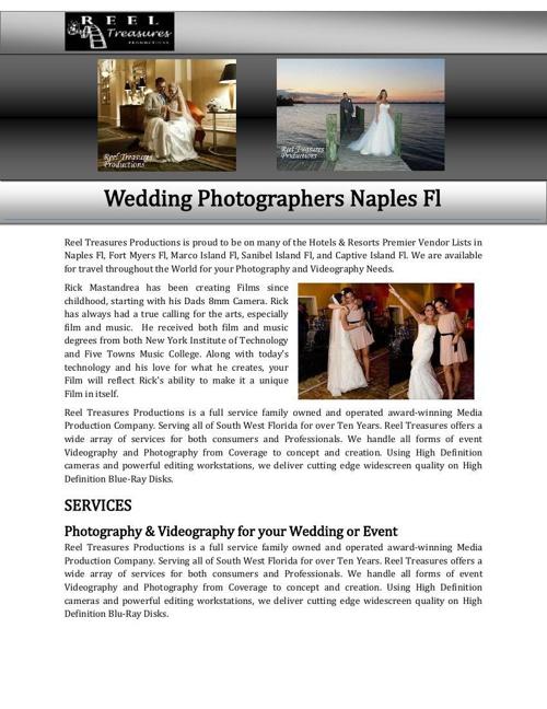 Wedding Photographers Naples Fl
