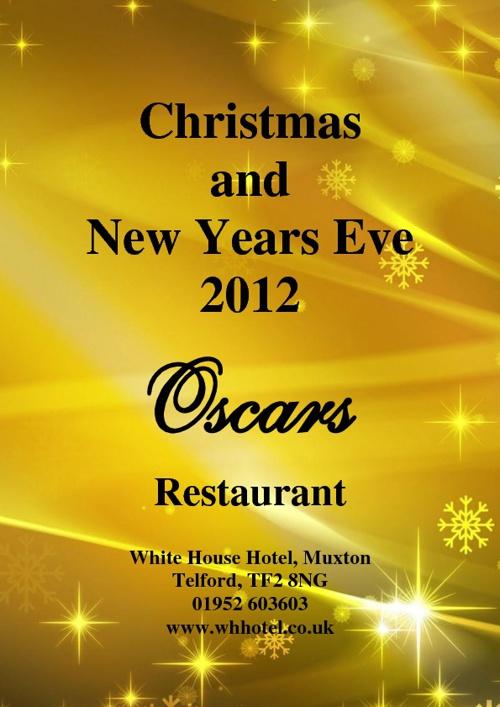 Christmas Menus 2012