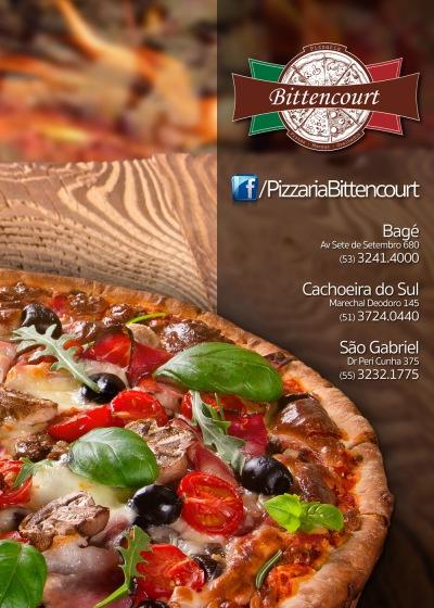 Cardápio Pizzaria Bittencourt