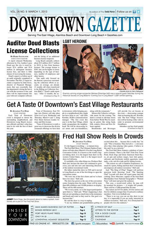 Downtown Gazette     March 1, 2013
