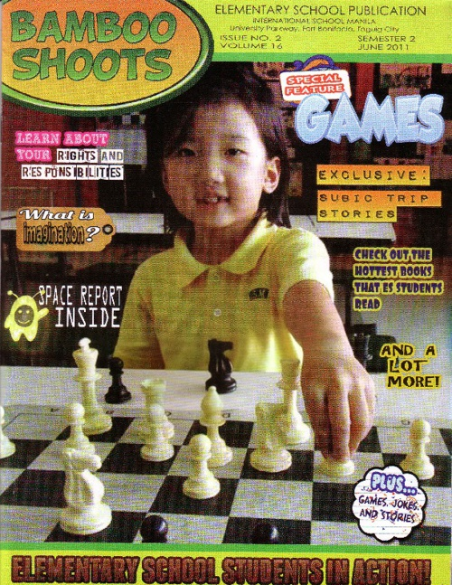 Bamboo Shoots Magazine; Semester 2, June 2011