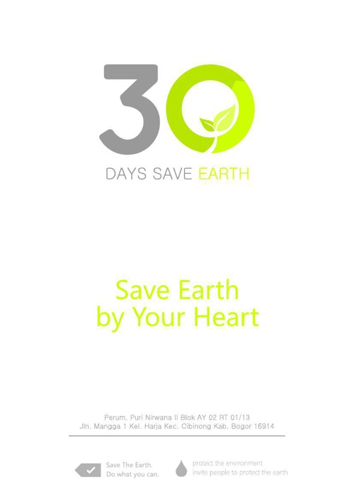 PROPOSAL_30_DAYS_SAVE_EARTH