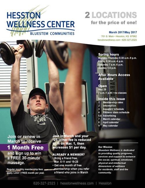 Spring 2017 | Hesston Wellness Center News