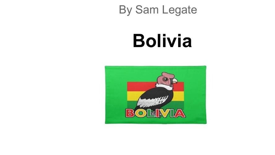 Bolivia book