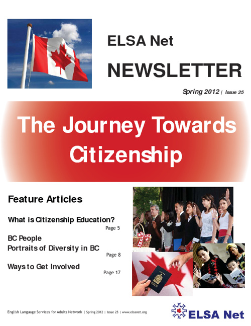 ELSA Net Newsletter - Spring 2012