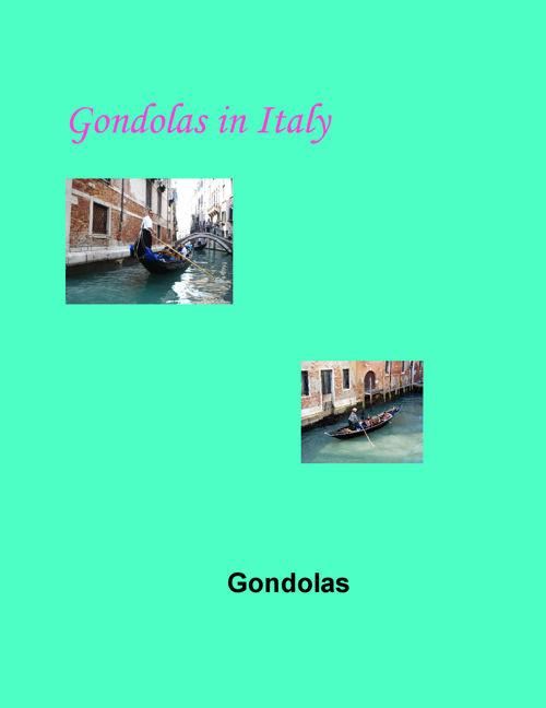 Gondolas in Italy