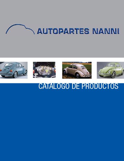 Catálogo - Autopartesnanni