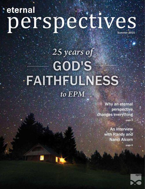 Eternal Perspectives: Summer 2015