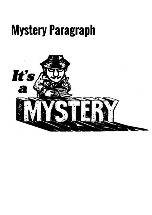 Mystery Paragraph