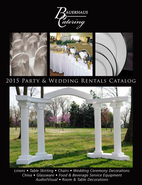 2015 Party & Wedding Rentals Catalog