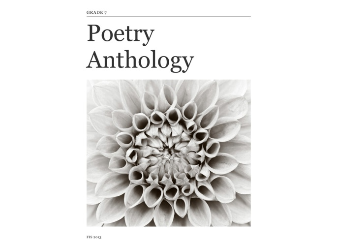 Grade 7 Poetry Anthology