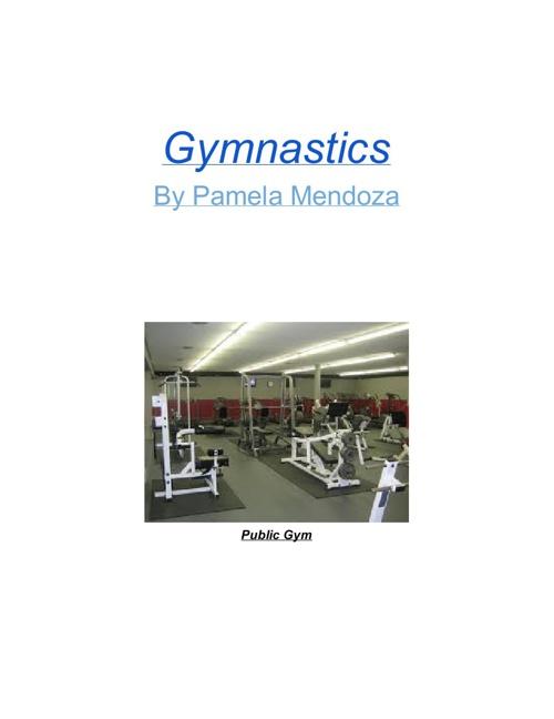 Gymnastics By Pamela